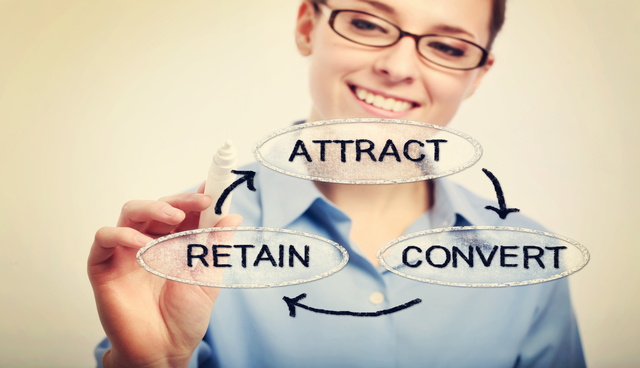 Attract, Convert, Retain