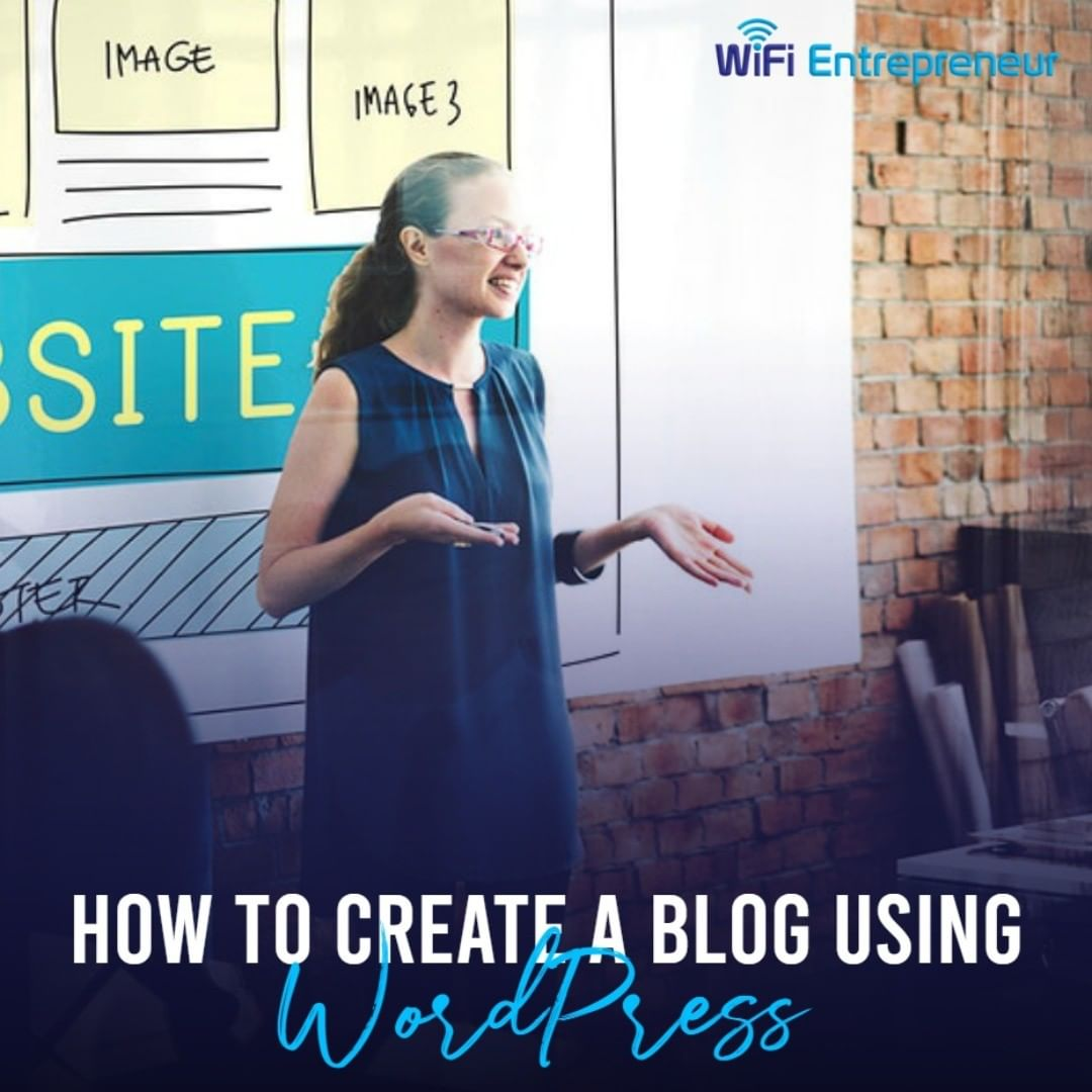 create a blog wordpress