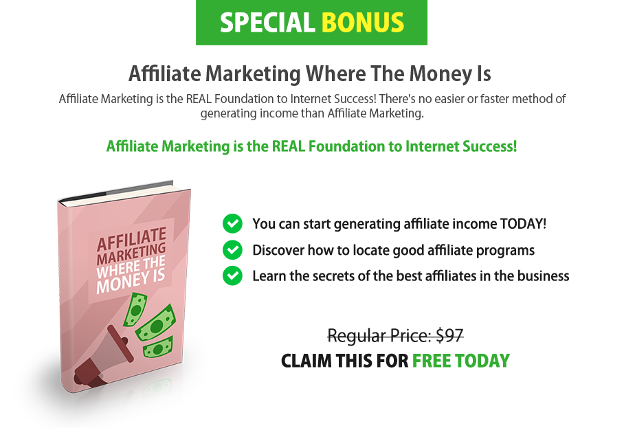 make money with affiliate marketing programs