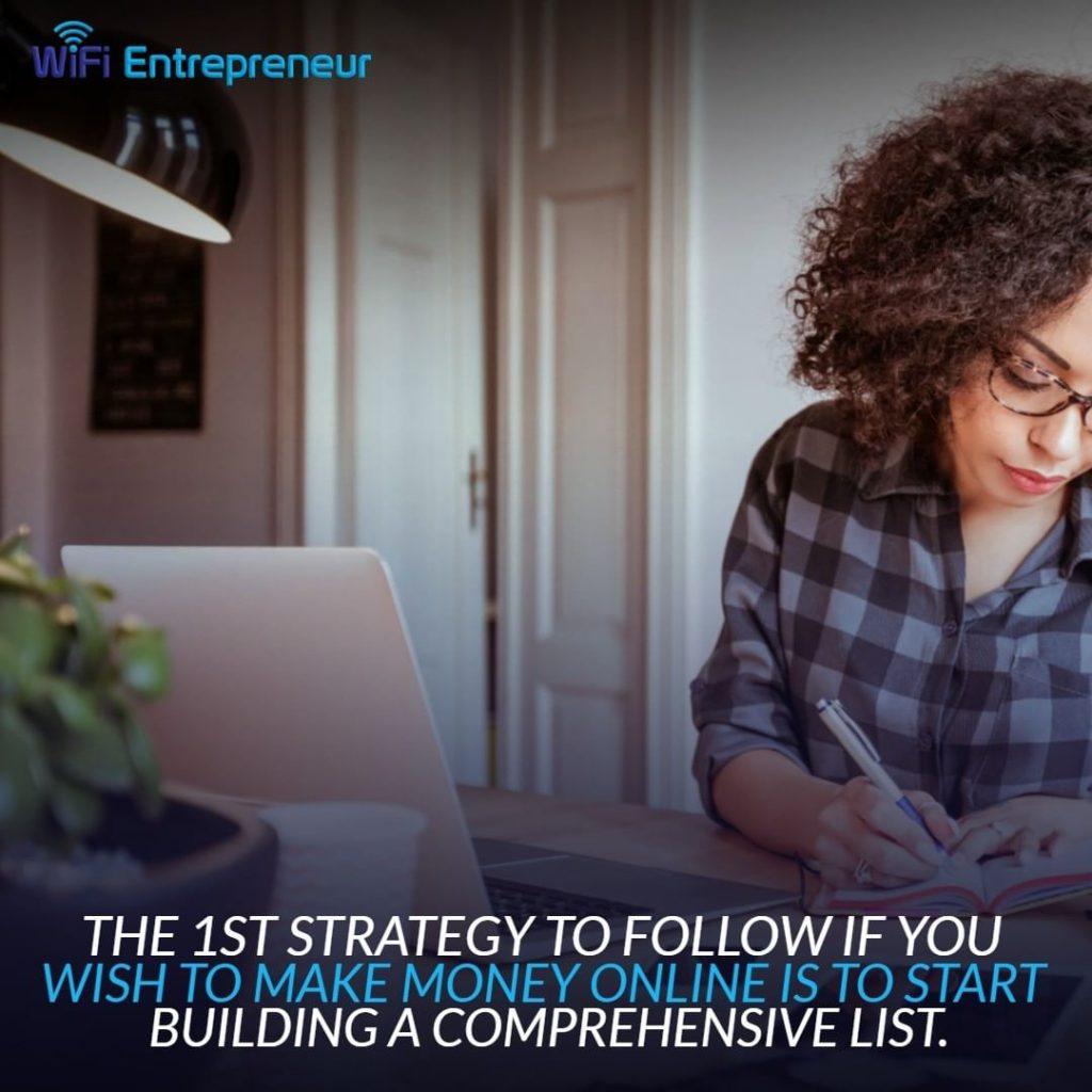build an email list