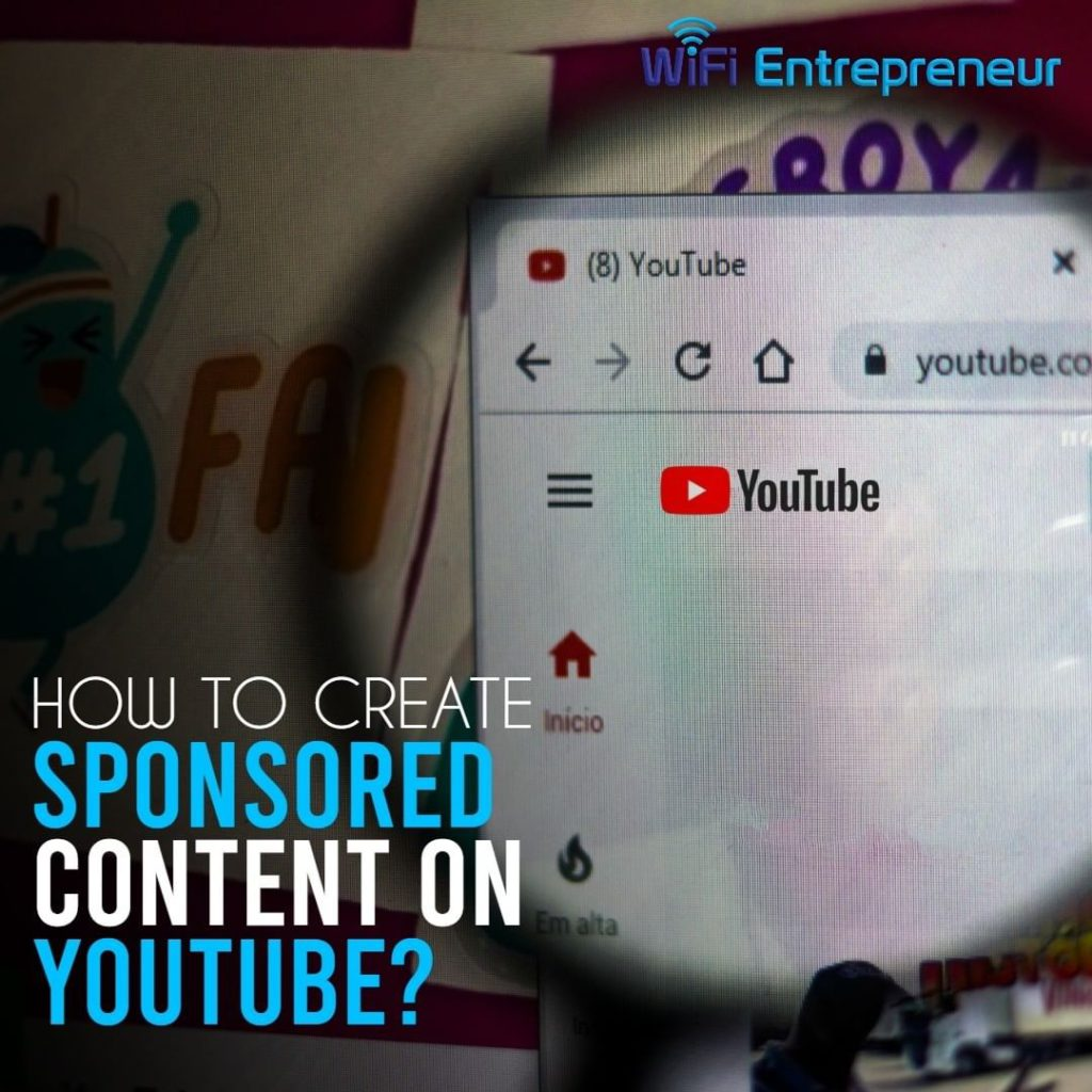 how to create sponsored content on youtube