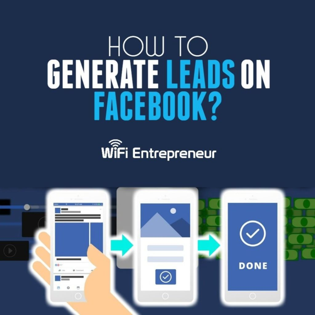 how to generate leads on Facebook