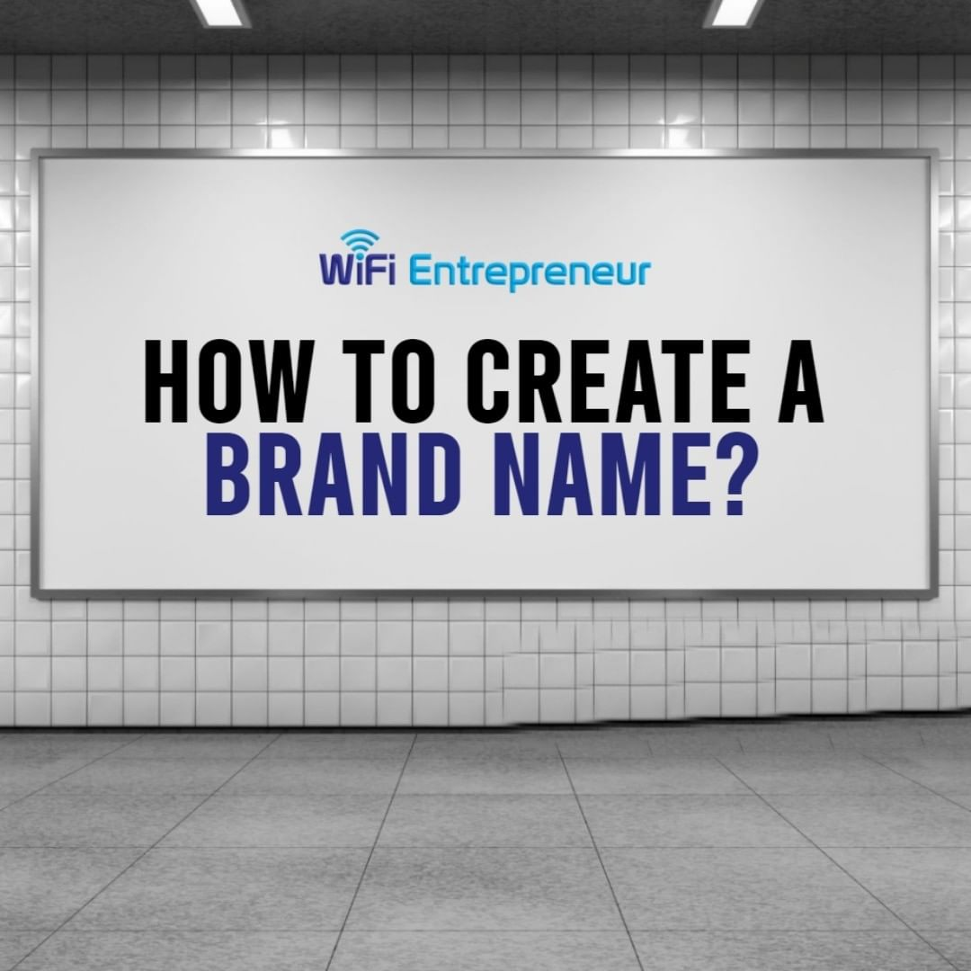 how to create a brand name