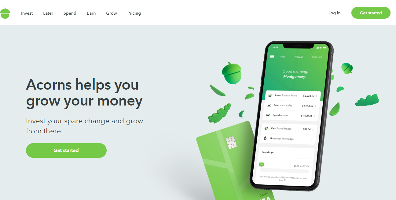 Acorns Make Money App