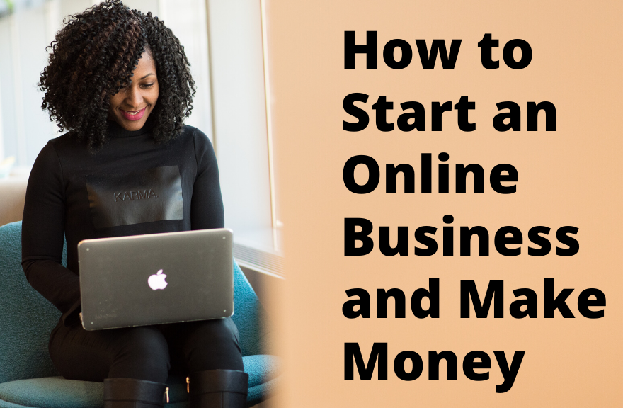 start and online business and make money feature image